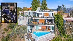 Former NHL Star Oleg Tverdovsky Selling Sleek $8.8M Mansion in Bel-Air