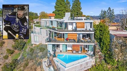 Former NHL Star Oleg Tverdovsky Selling Sleek $8.8M Mansion in Bel-Air