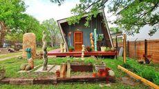 Tilted House in Austin Seeks Buyer Who Thinks Slightly Askew