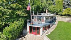 Forever Moored: Stern of the USS Manzanita Is Converted Into a $2M Home