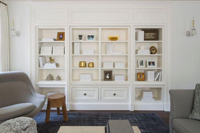 Elegant ivory paper creates clean lines.