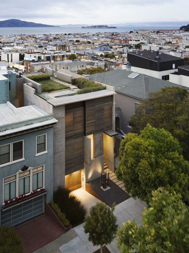 Exterior of home in Cow Hollow, San Francisco