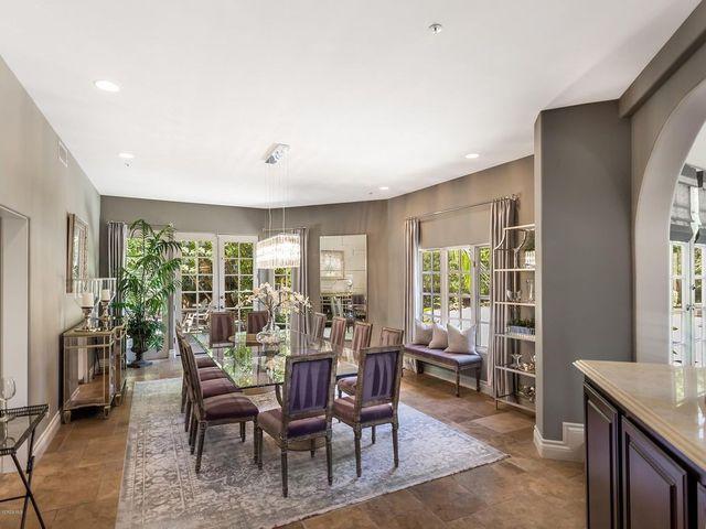 Dining room in Westlake Village, CA