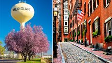 The Surprising Cities Where You'll Find America's Newest and Oldest Homes