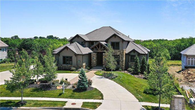 Chris Jones' home in Overland Park, KS