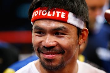 He Packs a Punch: Boxer Manny Pacquiao Relists One of His L.A. Houses