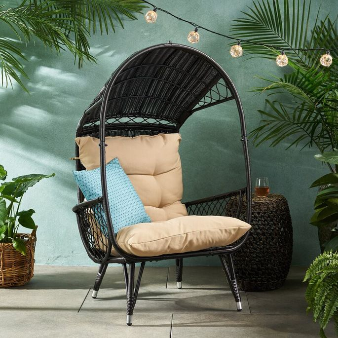 Snuggle into this cozy cocoon with a good book.