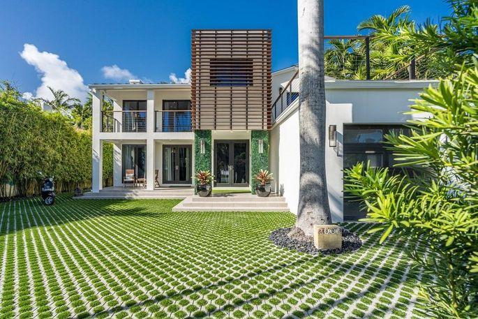 Jeremy Shockey's Miami Beach home