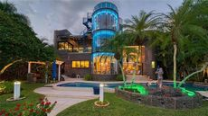 Wild on the Waterfront: This Custom-Built Florida Mansion Is So Totally '80s