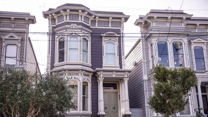 """The """"Full House"""" house in San Francisco"""