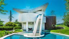 'Guggenheim Museum Meets Spaceship' Soars Onto Market in Washington