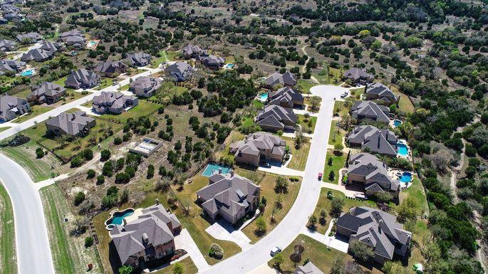 Dripping Springs, Texas Suburb Housing Development