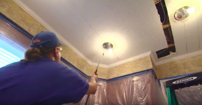 Quot How To Remove A Popcorn Ceiling Quot Is One Of Those