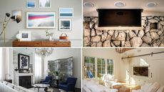 7 Clever Ways to Conceal Your Flat-Screen TV
