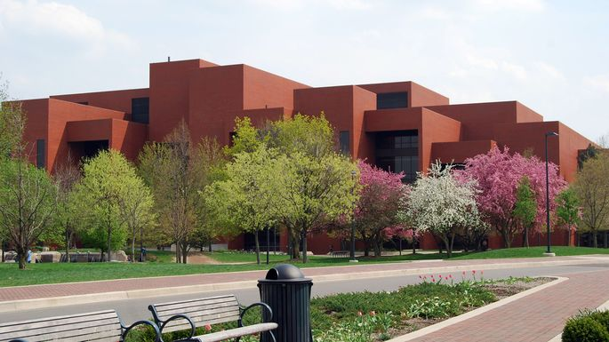 The Bracken Library at Ball State University