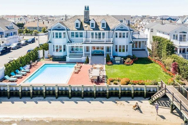 Long Beach, NY mansion exterior