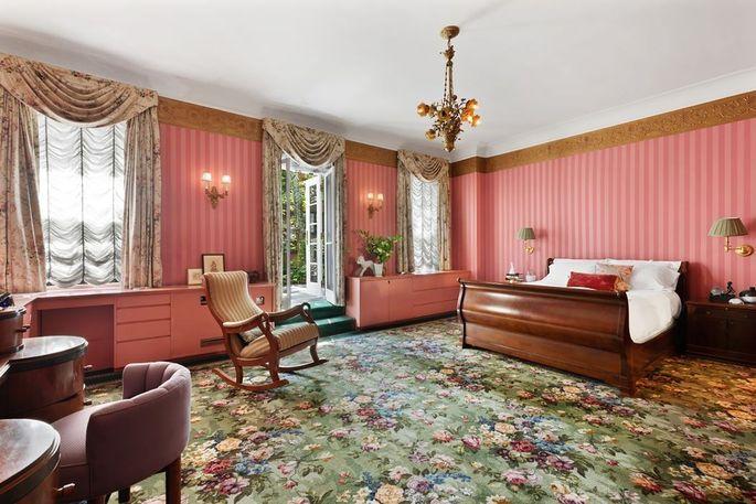 Bedroom with garden access