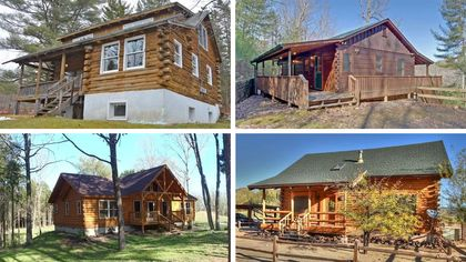 Rustic and Reasonable: 8 Log Cabins Priced Under $200K