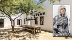 Diane Keaton Gives a Glow-Up to a Desert Delight in Tucson, Lists It for $2.6M