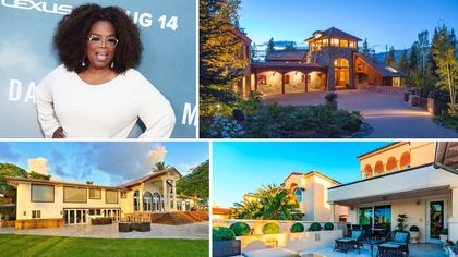 She Gets a House! And He Gets a House! Oprah Winfrey's Impressive Real Estate Portfolio