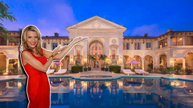 Vanna White's $38M European-Style Estate Is the Most Expensive New Listing