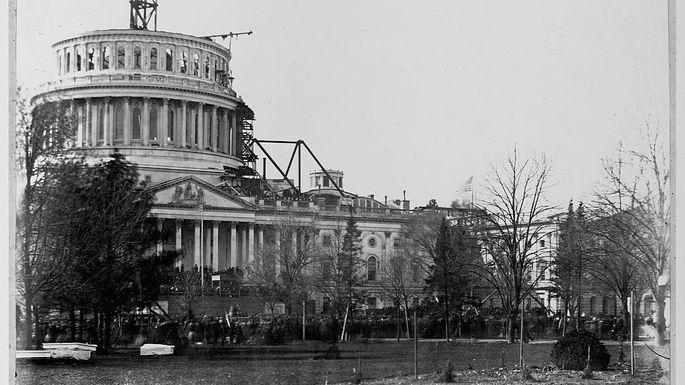 U.S. Capitol, 1861
