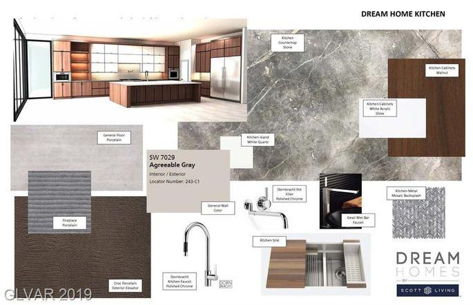 Kitchen design features