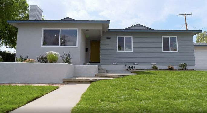 Christina Anstead takes risks when it comes to this house's exterior.