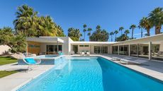 Renovated and Ready, This Palm Springs Midcentury Modern Gem Resembles a Resort