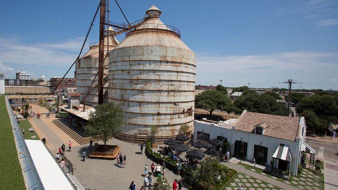 The Magnolia Market at the Silos complex in Waco, TX