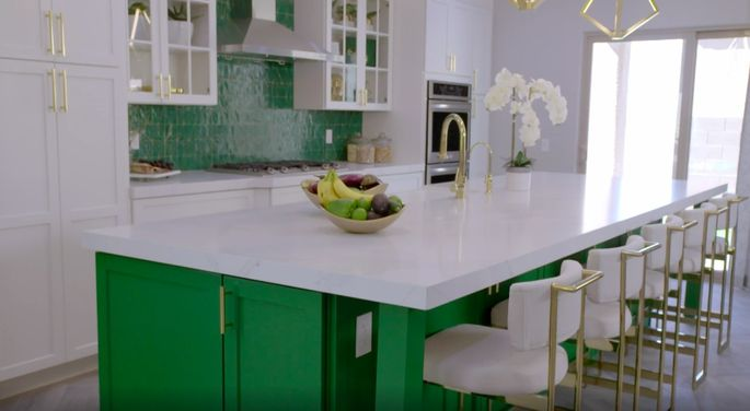 Who doesn't love a colorful kitchen?