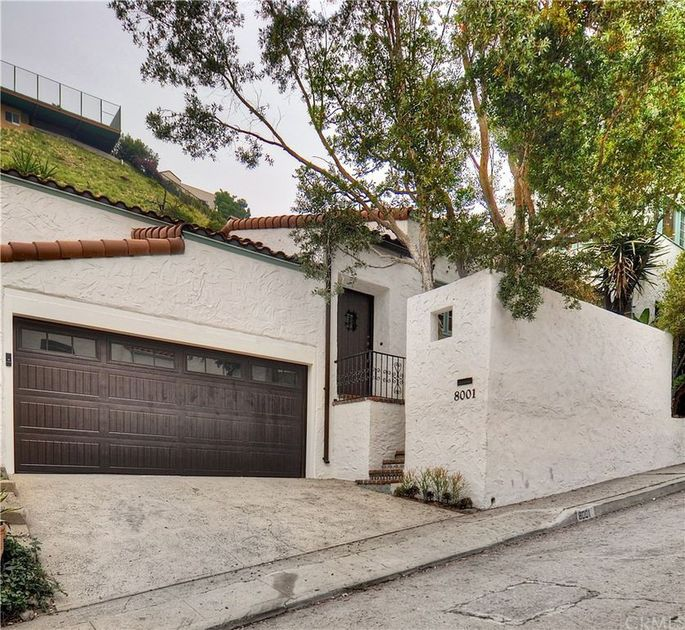 Monterey Colonial-style home in Laurel Canyon