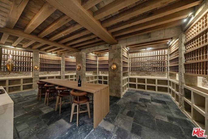 Bellagio Estate wine cellar