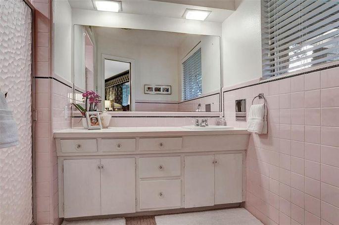 Bathroom with original tile