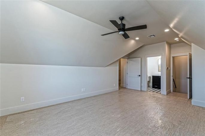 Attic bonus room