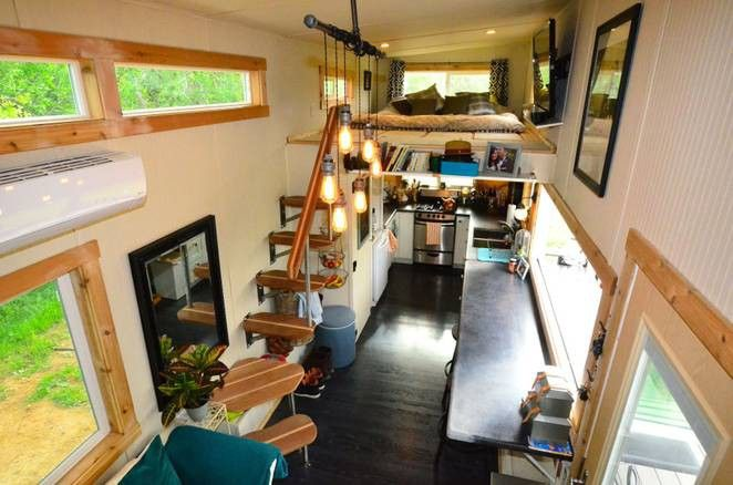 Captivating Even With The Most Clever Use Of Space, Almost All Tiny House Buyers Need To