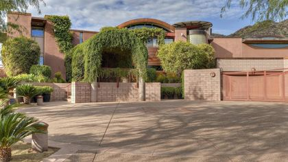 $3.6M Copper-Coated Phoenix Estate Is Filled With Secret Upgrades