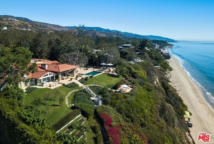 Malibu, CA, beach house