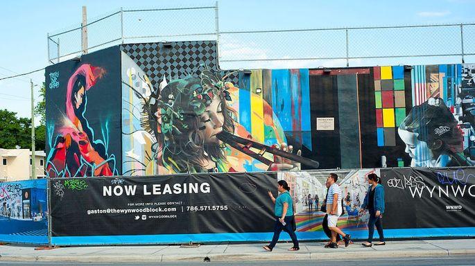 USA - Wynwood Art District in Miami