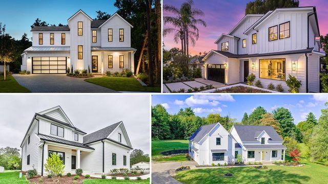 Farm-Fresh to Your Door: 10 New Modern Farmhouse Homes for Sale