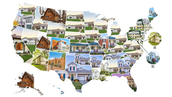 a nation united and divided by our homes architectural styles