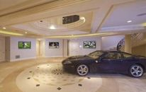 Now that's Grand: L.A. Mansion's Foyer Features Ferrari (PHOTOS)