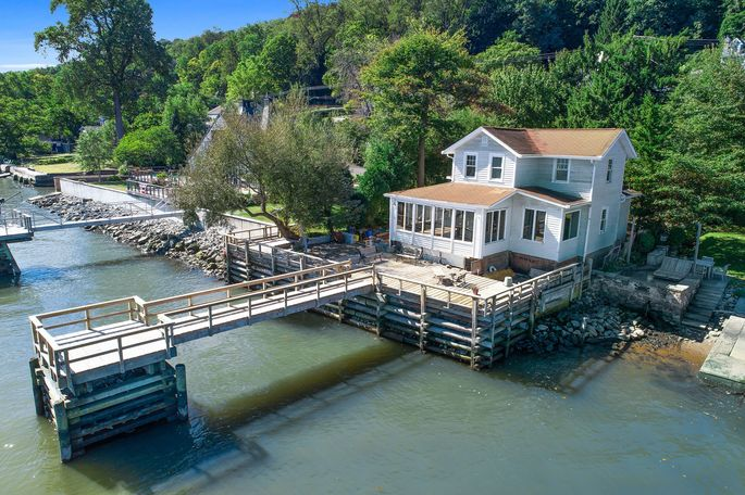 This home in Nyack, N.Y., had been gutted and was on the market for $732,000 until last month, when owner Michael DeMarco decided to take it off the market and fix it before trying to sell it again.