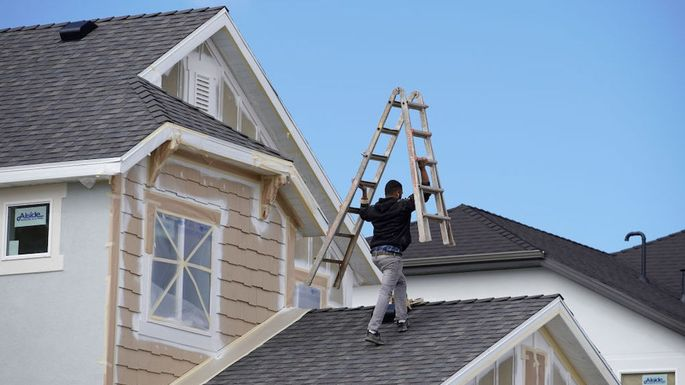 Residential Construction As U.S. Housing Figures Are Released