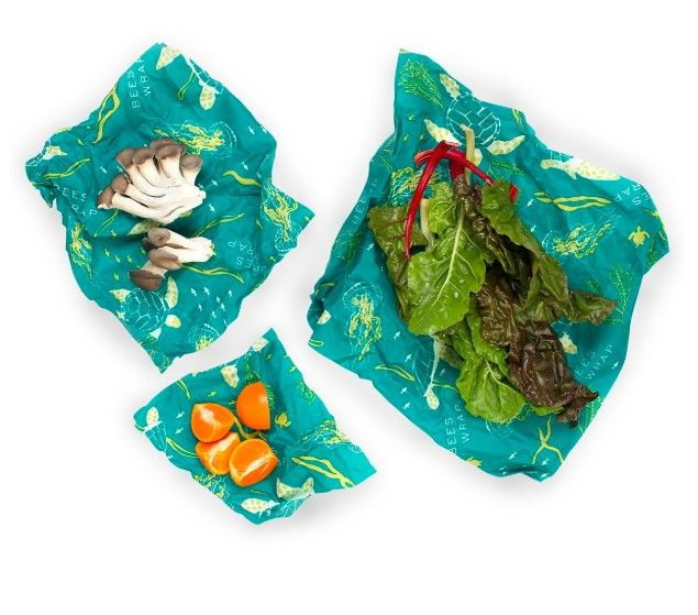 Help save the planet, and your food, with stylish Bee's Wrap.