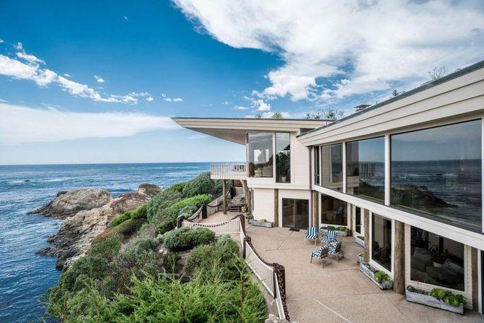 Decks with ocean views