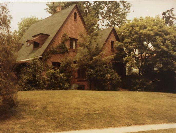The house where I was born