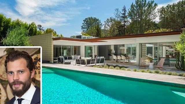 Jamie Dornan S Mid Century Modern Home In L A Is For Realtor