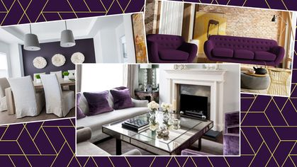 Purple Reign: 7 Pretty Ways to Use This Trendy Color in Your Home Decor