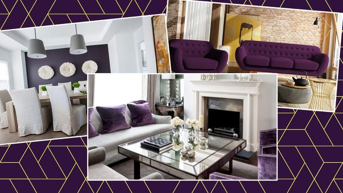 Captivating Purple Reign: 7 Pretty Ways To Use This Trendy Color In Your Home Decor